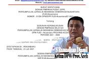 10 Penerima Mandat, DPW PJID-Nusantara Provinsi Aceh Resmi di SK kan dan  Dipimpin S Ramadhan Djamil