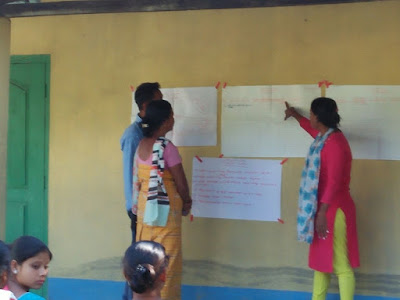 Action planning at Dumerguri Pt II, Bongaigaon