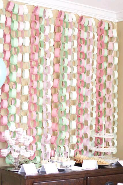 M s y m s manualidades decora tu fiesta con cadenas de papel - Mira y decora ...