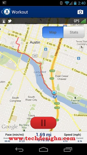 MapMyRun for Android