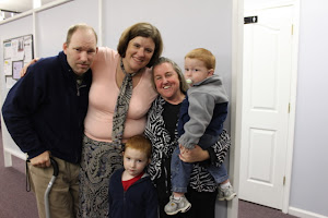Ann's friends, Cathy and Chris and their boys, came to be see us, too!