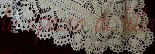 Lo Spazio Di Lilla Bordi Per Copertine A Uncinetto Crochet Edges