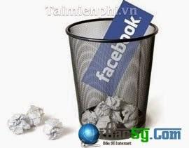 Hình 1: Hướng dẫn xóa tài khoản Facebook cũ