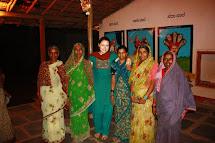 Martina jako dobrovolnice v Indii. (Foto: Jana Jagran)