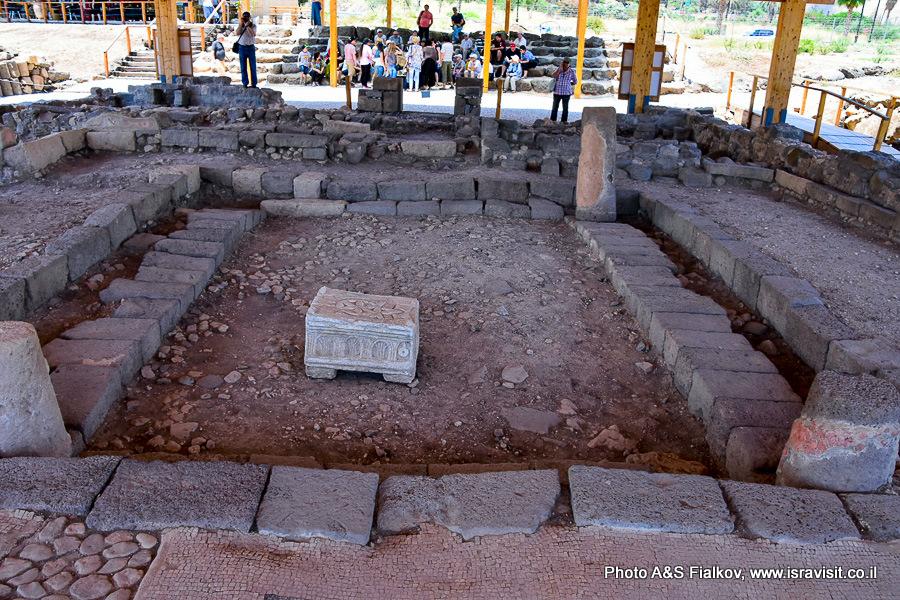 Древняя синагога в Магдале. Экскурсия гида в Израиле Светланы Фиалковой.