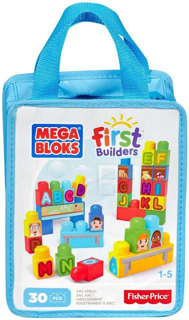 Bộ chữ cái bằng nhựa hình khối Mega Bloks CYP53