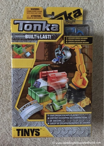 Tonka Tinys Car Crush Escape Review