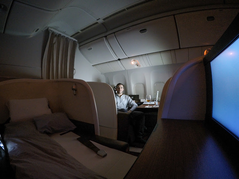 JL%252520F%252520HND LHR 120 - REVIEW - JAL : First Class - Tokyo Haneda to London (B77W)