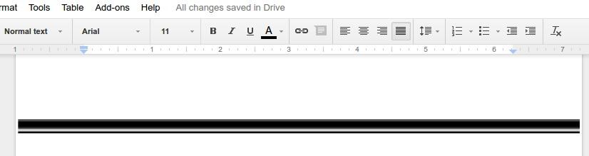how to turn a google docs horizontal