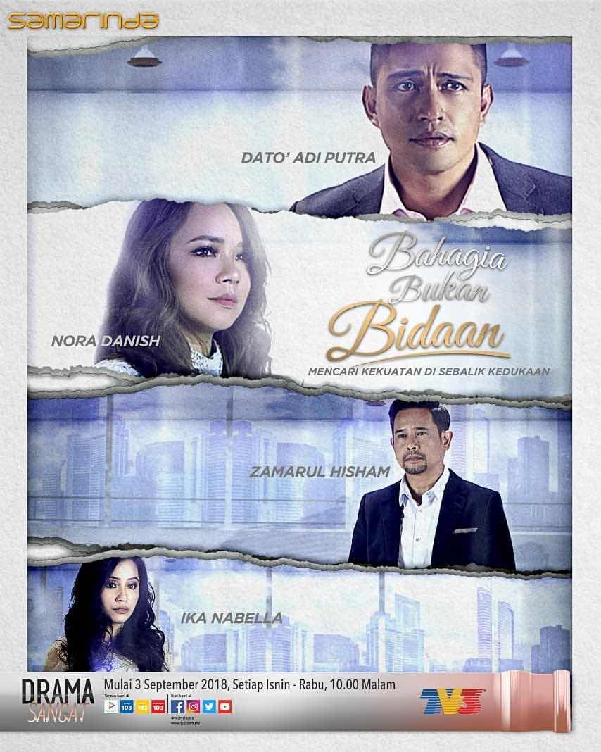 %255BUNSET%255D - Sinopsis Drama Bahagia Bukan Bidaan (slot Samarinda TV3)