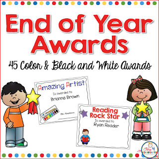 End of School Year Awards
