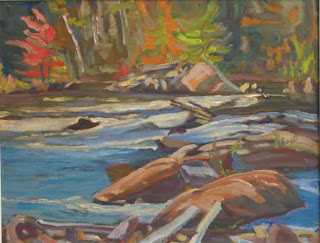 """MADAWASKA RIVER NEAR COMBERMERE, RENFREW COUNTYI, 1961"""