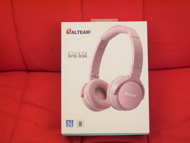 3C配件/國產/耳罩式/藍芽耳機/NFC功能-亞立田/我聽 ALTEAM-RFB-936 輕巧便攜藍牙耳機-玫瑰粉 外觀高質感,音質流暢舒適,時尚外出必備,無受線控好自在~ 3C相關 攝影