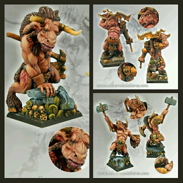 Scibor Miniatures Minotauros Blood Bowl