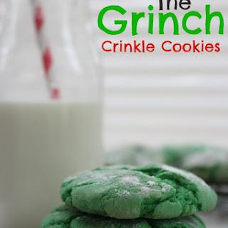 The Grinch Crinkle Cookies Recipe