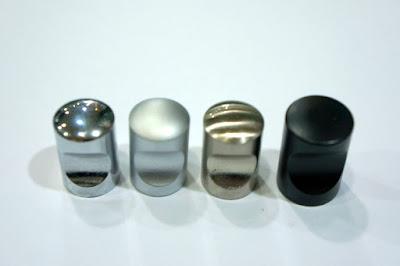 裝潢五金 品名:V611-圓柱取手 規格:12m/m 規格:16m/m 顏色:PC/SC/BSN/黑色 玖品五金