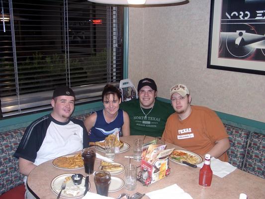 Photo: Me, Felicia, Travis and Craig