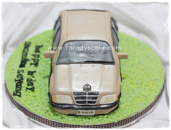Mercedes benz c230 where everything is made with love for Mercedes benz cake design