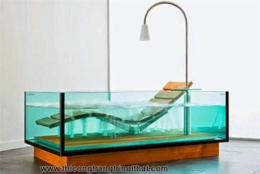 """18 chiếc bồn tắm cực """"cool"""" khiến bạn chìm đắm mãi không rời - Thi công trang trí nội thất-3"""