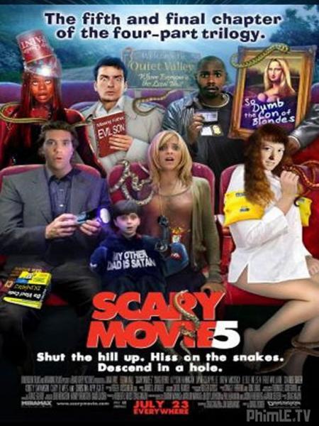Phim Phim Hai Kinh Dị 5 Scary Movie 5 Vietsub