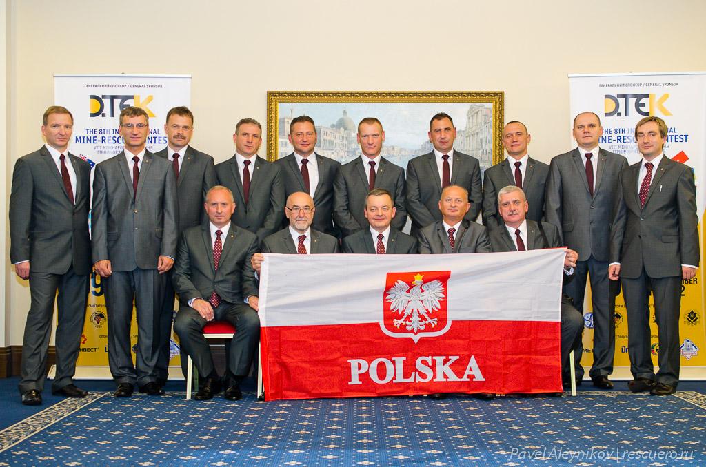 Горноспасатели из Польши