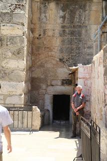 05-Entrée Basilique de la grot ... e la nativité à Bethleem