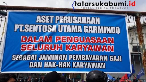 Gaji Tidak Dibayar, Buruh Ancam Duduki Pendopo Sukabumi