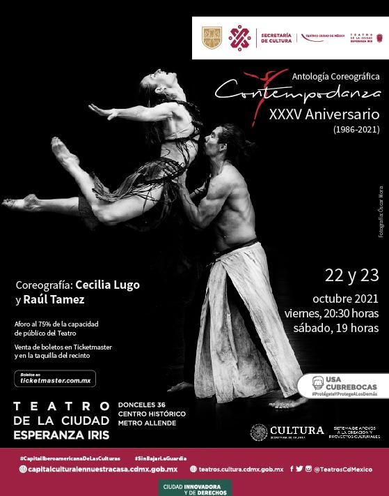 Contempodanza celebra XXXV años de trabajo ininterrumpido en el Esperanza Iris.