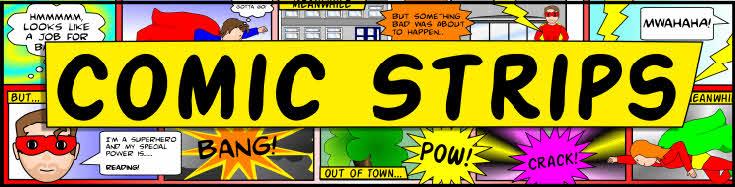 Comic Strip Banner Sparklebox