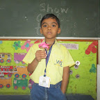 Show and Tell Activity (Sr. KG, R.C. Vyas) 16.03.2017
