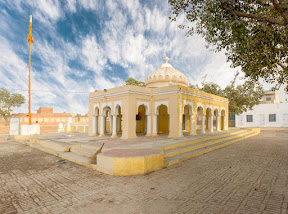 Main building of  Gurdwara Kaira Sahib , Nankana Sahib