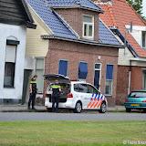 Hennepkwekerij aan Feiko Clockstraat Oude Pekela opgerold - Foto's Teunis Streunding