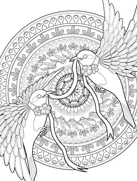 Free Coloring Pages For Adults Free Printable Adult Coloring Pages