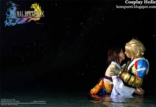 final fantasy x cosplay - yuna and tidus 2 by macon agtual and dycee co