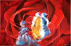 La Vallée des Roses.... 110 x 90 Février 2010