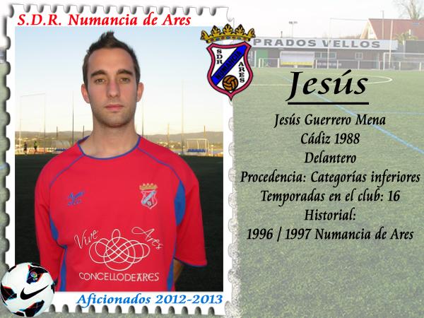 ADR Numancia de Ares. Jesús.