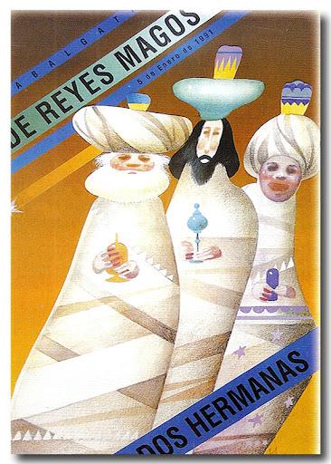 Cartel Cabalgata 1991-Autor: Justo Girón