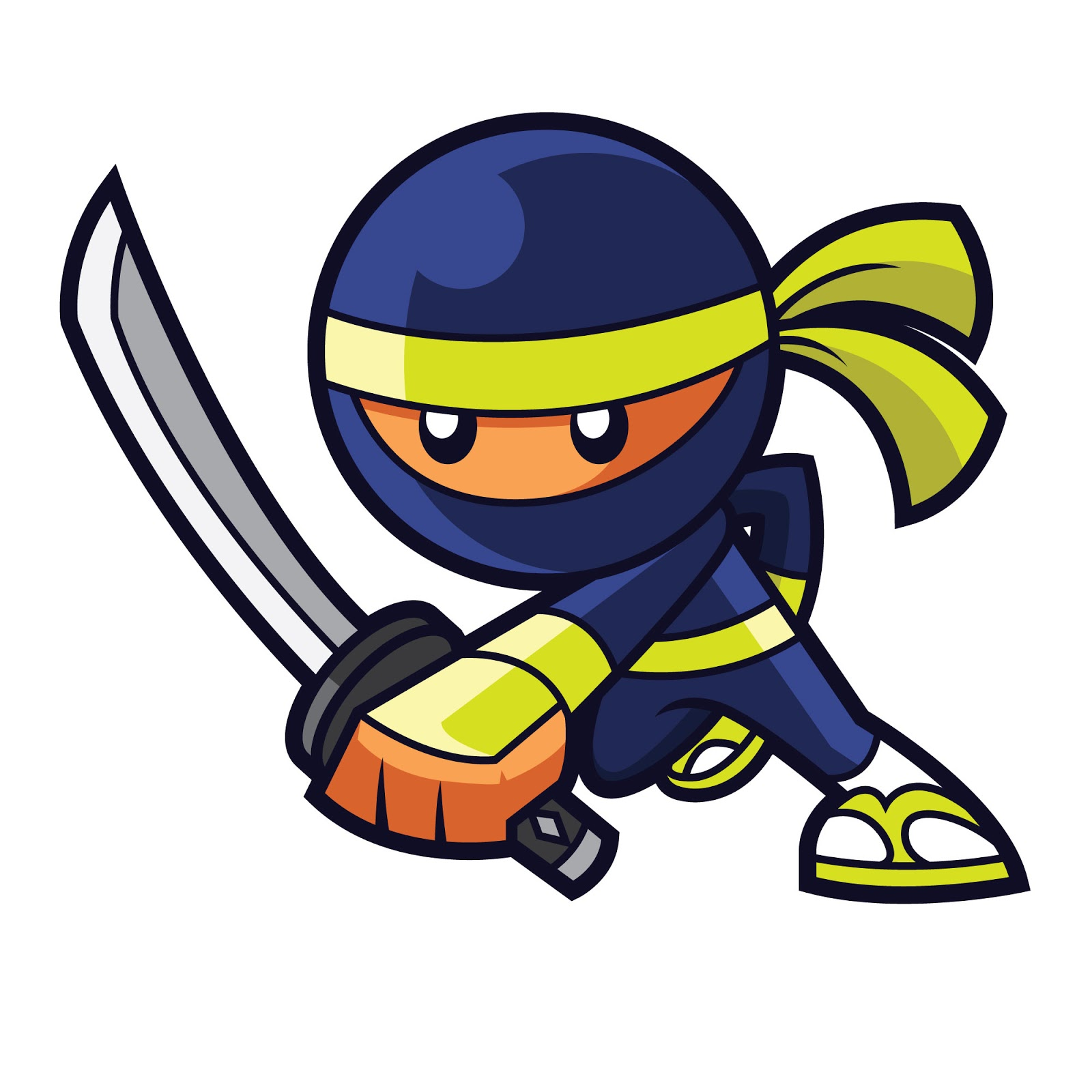 Ninja Warrior Logo Free Download Vector CDR, AI, EPS and PNG Formats