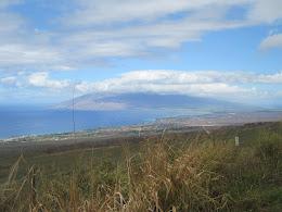 West Maui in the distance... Kiehi down below.