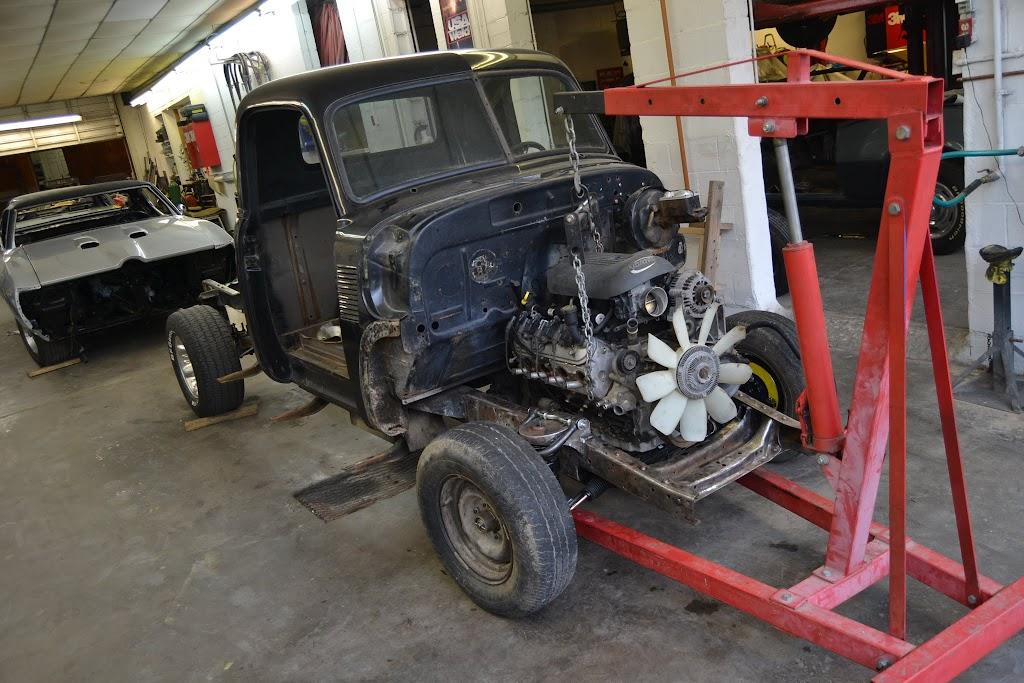1951 chevrolet pickup restoration photo gallery v8tv 1967 chevy truck wiring diagram 1951 chevy pickup restoration