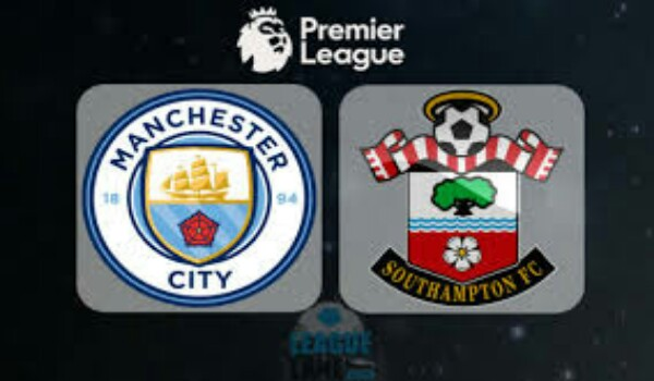 Manchester City vs Southampton premier league match highlight