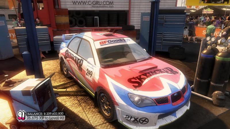 รายการรถกลุ่ม Rally ใน DiRT2 N12-04
