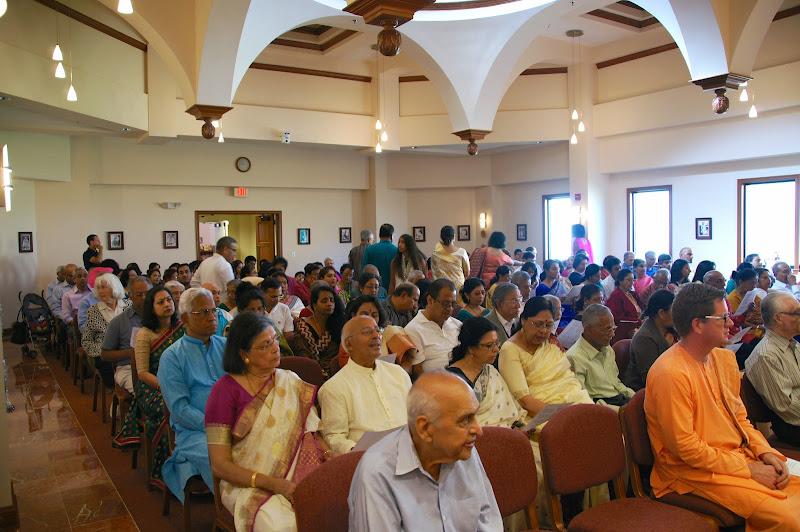 A full house!