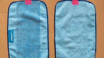 付属のウェットクロス 左:表、右:裏
