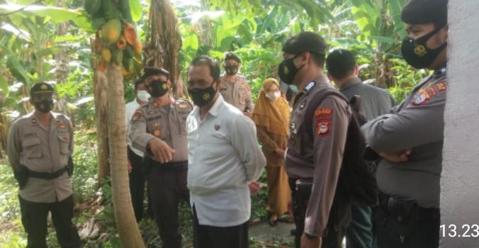 Personil Polres Soppeng Gelar Pengamanan Eksekusi Tanah di Lapajung