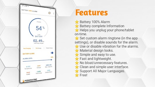 Battery 100% Alarm 1.1.5