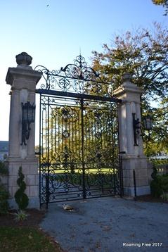 Beautiful gates!