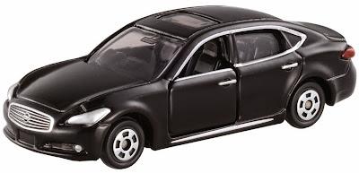 Tomica 08 Nissan Cima màu đen rất sang trọng