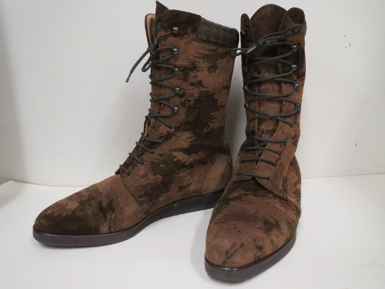 Bottega Veneta Camo Boots