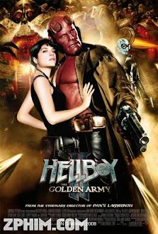 Quỷ Đỏ 2: Binh Đoàn Địa Ngục - Hellboy 2: The Golden Army (2008) Poster